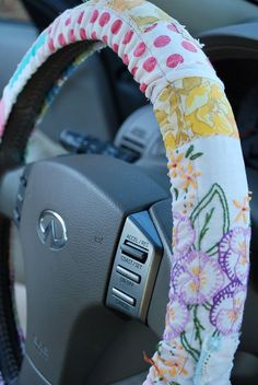 Steering Wheel Cover Boho car accessories - Periodic vehicle maintenance, which is of great