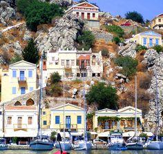A view of Symi....a beautiful Greek Island.... by realeoni