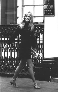 I WANT HER SHOES Brigitte Bardot