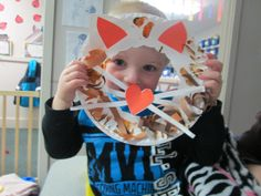 Roar!!!! In like a lion craft includes paper plates, construction paper, tempra paint and craft glue.
