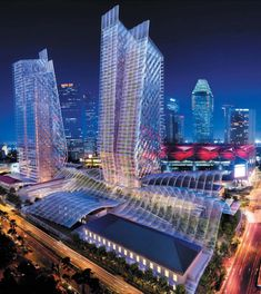 Foster + Parteners Green Complex in Singapore