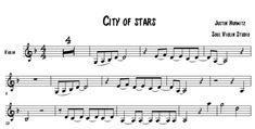 City of stars (la la land) - Justin Hurwitz / music sheet - soul violin studio Backing Tracks, Transcription, Sheet Music, Songs, Studio, City, Cover, Popular Music, La La Land