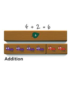 Look at this Cuisenaire Jr. Ants on a Log Set on #zulily today!