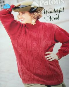Sweater Knitting Patterns Wonderful Wool Beehive by elanknits (Craft Supplies & Tools, Patterns & Tutorials, Fiber Arts, Knitting, knitting patterns, sweater patterns, jumper patterns, turtleneck patterns, cardigan pattern, tunic pattern, worsted weight yarn, Patons 741, Wonderful Wool, women, men, mens sweater pattern, mens jumper patterns)