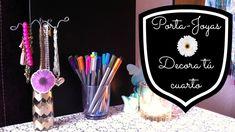 DECORA TÚ CUARTO | BOTELLAS DE PERFUME | PORTA-JOYAS ❤️