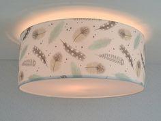 plafondlamp babykamer veren