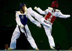 Top Taekwondo Kicks From Beijing - Taekwondo Slideshows | NBC Olympics