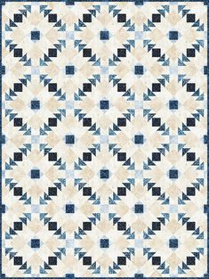 Free Pattern, Pattern Design, Flying Geese Quilt, Winter Project, Winter Quilts, Robert Kaufman, Quilting Projects, Quilt Blocks, Quilt Patterns
