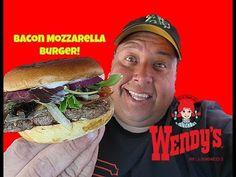 Wendy's® Bacon Mozzarella Burger REVIEW!