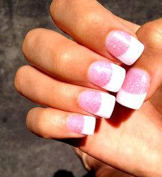 These are perfect!!  cute way to add a little sparkle to your french manicure nails