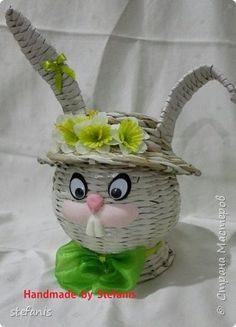 Зайци в прошлом году на Пасху фото 3 conejo pascua, papel , easter bunny