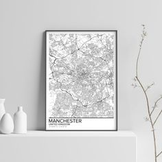 24 Best Manchester Map Images Manchester Map Manchester England