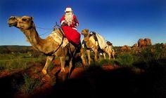 (© Lyndon Mec/Newspix/Rex Features) Santa in Australia