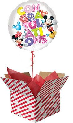 Big Fat Balloons Helium Delivery Balloon In A Box Gifts