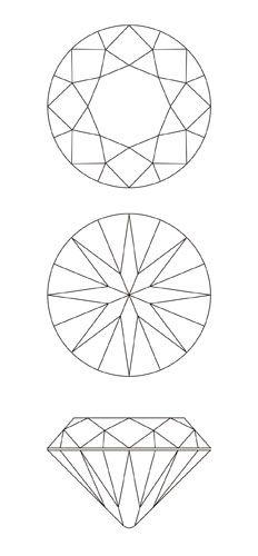 リアルなダイヤモンドのイラストを作る : はちのつぶやき