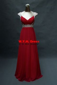 Elegant-2015-New-Long-Cap-Sleeve-Evening-Prom-Dresses-Bridesmaid-Dress-Gown-Size