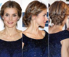 Los recogidos bajos se han convertido en el peinado favorito de la soberana en sus ocasiones más especiales