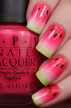 Nail art is a very popular trend these days and every woman you meet seems to have beautiful nails. It used to be that women would just go get a manicure or pedicure to get their nails trimmed and shaped with just a few coats of plain nail polish. Fancy Nails, Trendy Nails, Diy Nails, Sparkly Nails, Pink Sparkly, Stylish Nails, Nail Lacquer, Nail Polish, Gel Nail