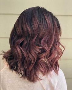 Hair color ideas for brunettes balayage dark rose gold ideas – Hair color ideas for brunettes balayage dark rose gold ideas – ,Ombré Hair Hair color ideas for brunettes balayage dark rose. Hair Color Ideas For Brunettes Balayage, Brown Hair Balayage, Hair Color Balayage, Rose Gold Balayage Brunettes, Dark Brunette Balayage, Auburn Balayage, Haircolor, Gold Hair Colors, Ombre Hair Color