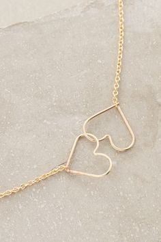 Kissing Hearts Necklace