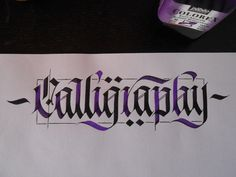 Calligraphy Masters Contest2 www.facebook.com/CalligraphyMasters | von FrakOne