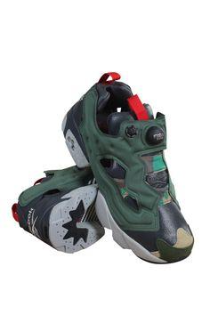 f18b122a9d2c Ar1448 Men Instapump Fury Og Vp Reebok Sneakers Black Green