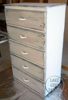 M s de 1000 ideas sobre muebles pintados de gris en - Reformar muebles viejos ...