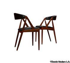 Danish Dining Chairs by Kai Kristiansen