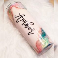 Distressed Chunky Geode Glitter Dipped Tumbler Cup- 20 oz skinny is pictured - Products - Diy Tumblers, Custom Tumblers, Glitter Tumblers, Personalized Tumblers, Insulated Tumblers, Tumblr Cup, Blue Geode, Tumbler Designs, Glitter Cups