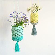 Hold da op en dejlig modtagelse mine hæklede lanterner fik på Insta. Selve strukturen er en variant af samme struktur som jeg bruger i min bog til Netop Nok nettet og kurvene. Jeg vil dog gerne læg…