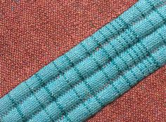 An introduction to double weave on four shafts with drafts for table looms, jack looms and countermarche looms.