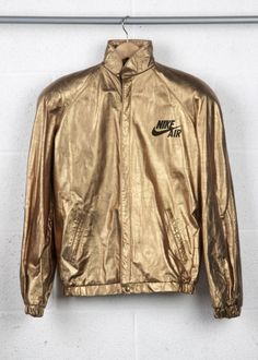 Nike Air Jacket Gold | BruteBeats, Your Visual Radio Hip-Hop Experience likes this! www.brutebeats.com