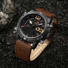 NAVIFORCE NF9095M Men Dual Movt Watch