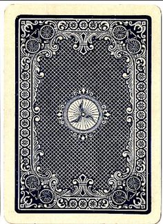 Bicycle No. 808 Racer-back, 1895 Bicycle Cards, Bicycle Playing Cards, Face Down, Deck Of Cards, Decks, Poker, Card Games, Tarot, Design Ideas