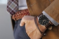 Get a gift for him! Quality crafted minimalism meets elegant chic design. Born in Santa Monica, California, the MVMT Watches initiative is to design fashion-forward products, and offer them at a revolutionary price. Let this watch, or any of our other styles, complete your accessory collection. Compliments guaranteed. #JointheMVMT