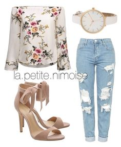 """Tenue Emilie"" by latiteislandaise on Polyvore featuring mode et Topshop"