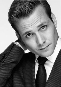 *Drool* That pose is hot on any man but Gabriel Macht takes the whole damn cake.