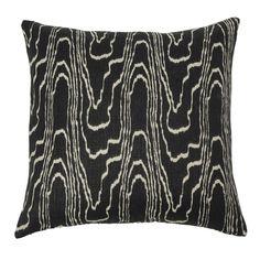 black + cream pillows | kelly wearstler