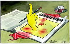 """""""I may not have always agreed with how #CharlieHebdo reported on Islam but respect its right to be heard"""""""