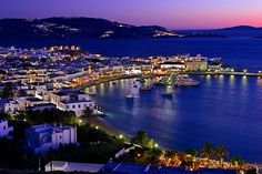 Greece Beaches | ... Venice in the town ( hora ) of Mykonos, Greece's Cyclades Islands