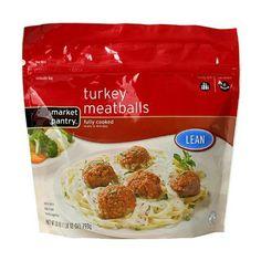 Market Pantry® Lean Fully Cooked Turkey Meatballs 28-oz.--Medifast approved http://donnamohr.ichooseoptimalhealth.com