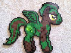 Commission Pegasus MLP perler beads by prettypixelations on deviantart