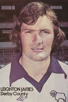 Leighton James of Derby County in Football Cards, Football Players, Derby County, Everton Fc, Swansea, Rugby, 1970s, The Past, Soccer