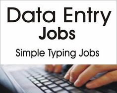 How to Make Money With Online Data Entry (Typing) Jobs from Home Making Money, Making Money ideas, Making money online