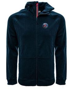 0b2a3bae Level Wear Men Paris Saint-Germain Club Team Fortress Banner Full-Zip Hoodie
