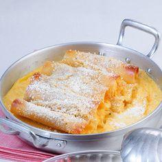 Süße Cassata-Cannelloni  Pasta schmeckt auch süß. Besonders gut eignen sich dazu Cannelloni, die man wunderbar mit einer fruchtigen Ricottacreme füllen kann. Ein Sattmacher für alle Süßschnäbel.