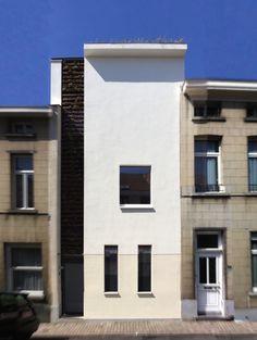 La Maison Husson  Uccle, architecture verte, habitation individuelle,