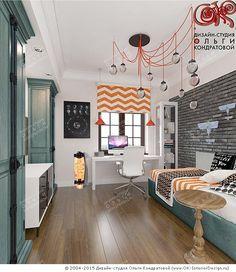 Дизайн детской комнаты для мальчика - http://www.ok-interiordesign.ru/ph_dizain-detskoy-komnaty.php