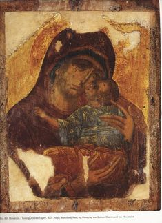 Byzantine Art, Byzantine Icons, Orthodox Icons, Blessed Mother, Wow Products, Figure Painting, Ikon, Madonna, Jesus Christ