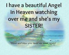 To My Beautiful Sister Heaven Wwwpicturessocom